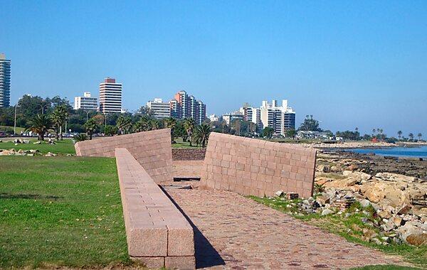 Holocaust Monument in Montevideo, Uruguay