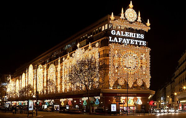 Galeries Lafayette Paris Sygic Travel