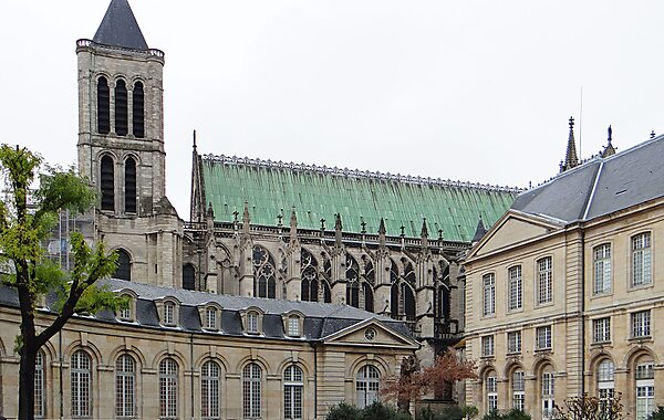 basilica cathedral of saint denis paris sygic travel. Black Bedroom Furniture Sets. Home Design Ideas
