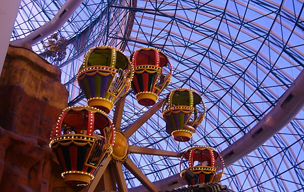 Adventuredome (formerly Grand Slam Canyon) is a 5-acre ( ha) indoor amusement park located at Circus Circus in Las Vegas, Nevada, on the Las Vegas Strip.