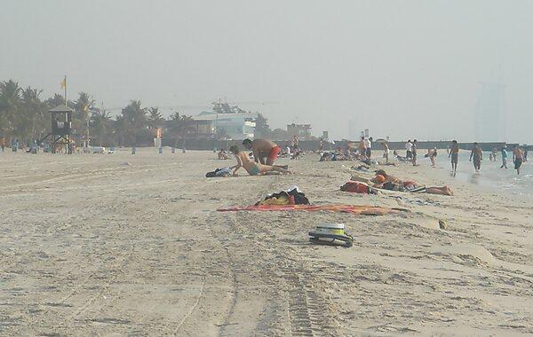 Jumeirah Beach Park in Dubai, United Arab Emirates