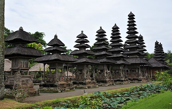 Royal Temple of Mengwi in Denpasar, Indonesia
