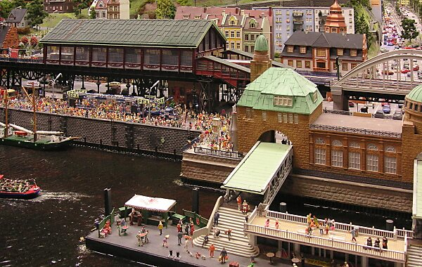 Miniature Wonderland in Hamburg, Germany