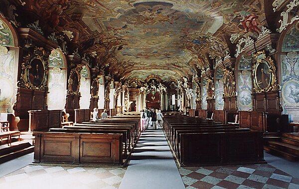 Aula Leopoldina in Wroclaw, Poland