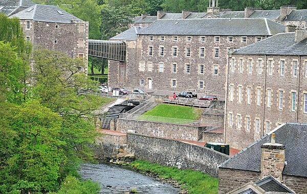 Lanark United Kingdom  City new picture : New Lanark in United Kingdom