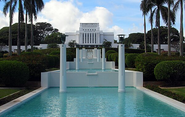 Laie Hawaii Temple in United States