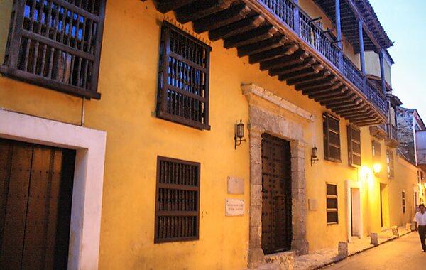 Marqués Valdehoyos House in Cartagena, Colombia