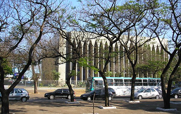 Dom Bosco Church in Brasilia, Brazil