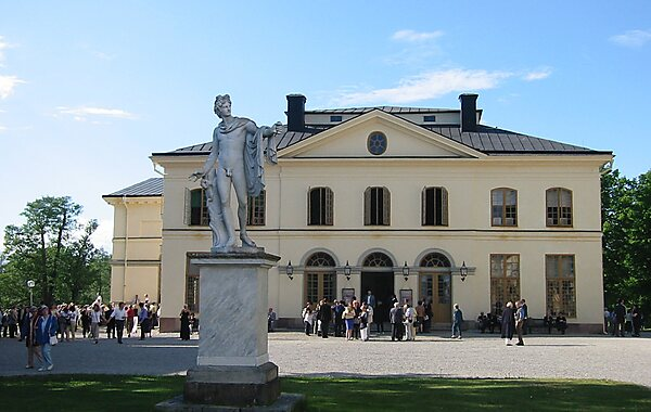 Drottningholm Palace Theatre & Theatre Museum in Stockholm, Sweden