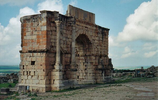 Volubilis in Morocco