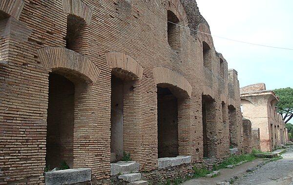 Lido di Ostia Italy  city pictures gallery : Ostian Insula; Domus di Giove e… © Nashvilleneighbor