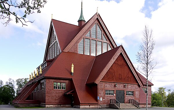 Kiruna Church in Kiruna, Sweden