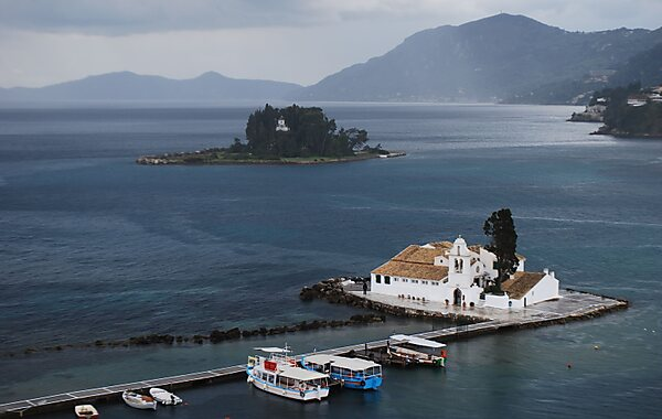 Mouse Island in Corfu Town, Greece