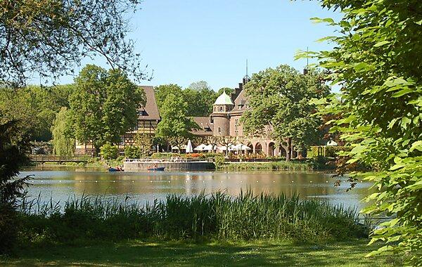 Wittringen Castle in Gladbeck, Germany