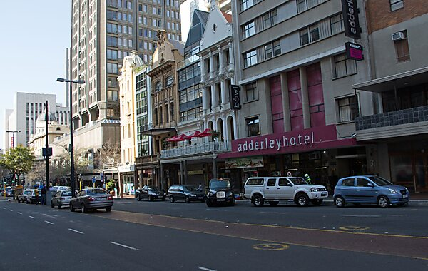 Adderley Street in Cape Town, South Africa