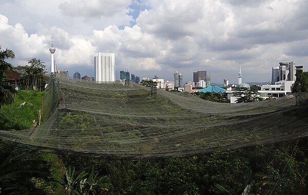 Kuala Lumpur Bird Park in Kuala Lumpur, Malaysia