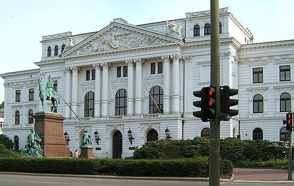 Altona City Hall in Hamburg, Germany
