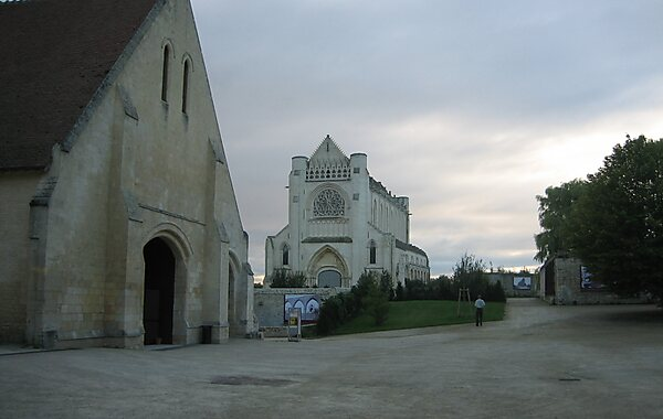 Ardenne Abbey in Caen, France