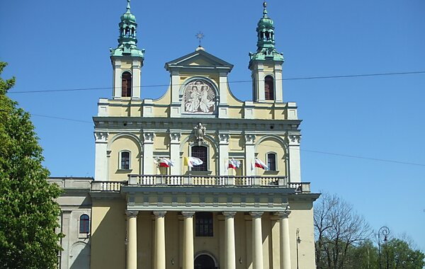 Lublin Cathedral in Lublin, Poland