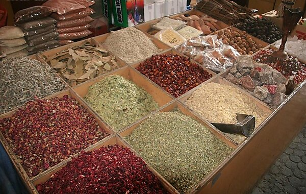 Dubai Spice Souk in Dubai, United Arab Emirates