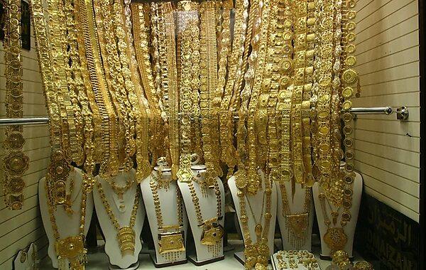 Gold Souk in Dubai, United Arab Emirates