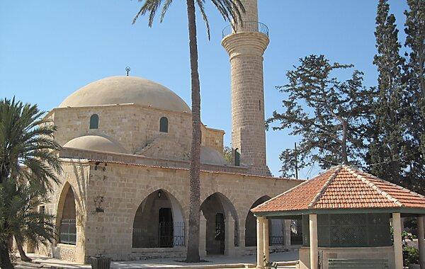 Mosque of Umm Haram in Larnaca, Cyprus