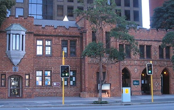 The cloisters perth sygic travel for 251 st georges terrace perth
