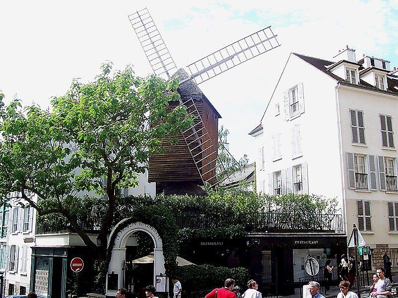 Moulin de la galette paris sygic travel for Best western le jardin de cluny paris